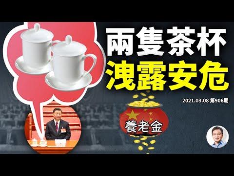 两只茶杯泄漏了习近平的安危信号!中国延迟退休上路,人们要面对哪些躲不开的副作用?(文昭谈古论今20210308第906期)