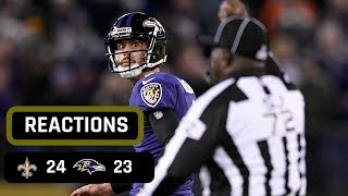 New Orleans Saints vs Baltimore Ravens Week 7 LIVE STREAM REACTIONS