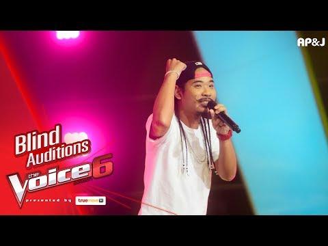 แชมป์ - รักเธอไม่มีหมด - Blind Auditions - The Voice Thailand 6 - 17 Dec 2017