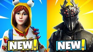 The NEW SKINS Coming to Fortnite Battle Royale..