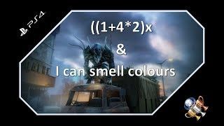 Alienation Trophy Guide - ((1+4)*2)x and I Can Smell Colours