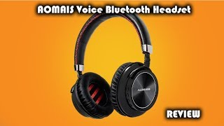 Video AOMAIS VOICE Bluetooth Headset Review download MP3, 3GP, MP4, WEBM, AVI, FLV Juli 2018