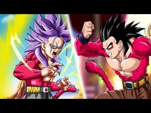Super saiyan 4 gohan vs super saiyan 4 future trunks dragon ball xenoverse ssj4 gohan youtube - Dragon ball gohan super saiyan 4 ...