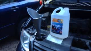 Radiator coolant flush - Dodge Grand Caravan