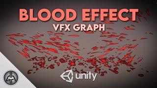 Unity VFX Graph - Blood Tutorial (Procedural Shader)