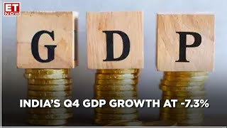 India's Economy Grows By 1.6%, FY21 GDP Contracts By 7.3%
