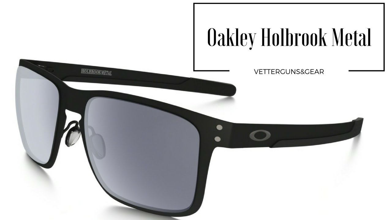 b79ed959d8254 Oakley Holbrook Metal Sunglasses - YouTube