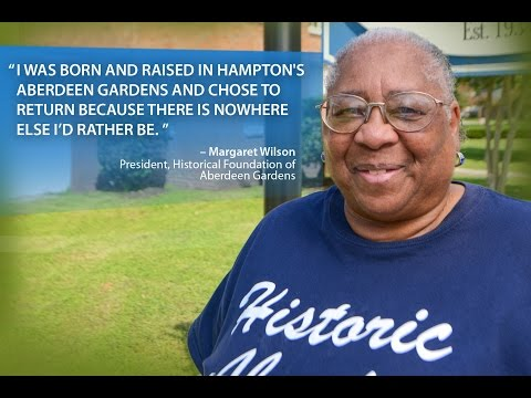 Choose Hampton: Mrs. Wilson, Aberdeen Gardens
