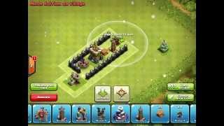 Clash of clans : comment piège les géant !! /Astuce pour les anéantir c'est énorme colosse !
