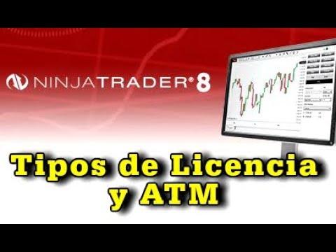 NinjaTrader – Diferencia entre licencias y qué es el ATM