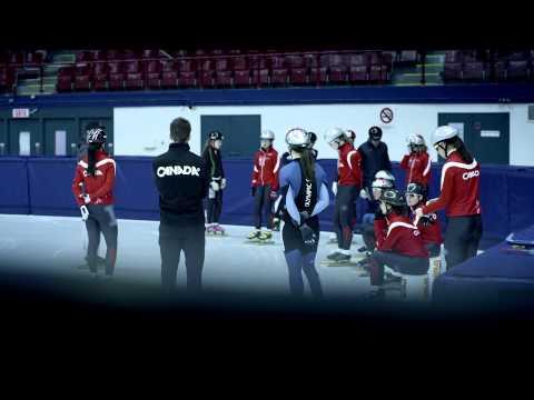 #WeAreWinter Charles Hamelin's Canadian Olympic journey   Sochi 2014