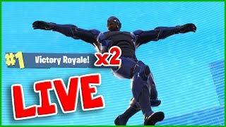 VICTORY ROYALE TWICE in ONE LIVE STREAM!!! Should I go PRO on Fortnite?