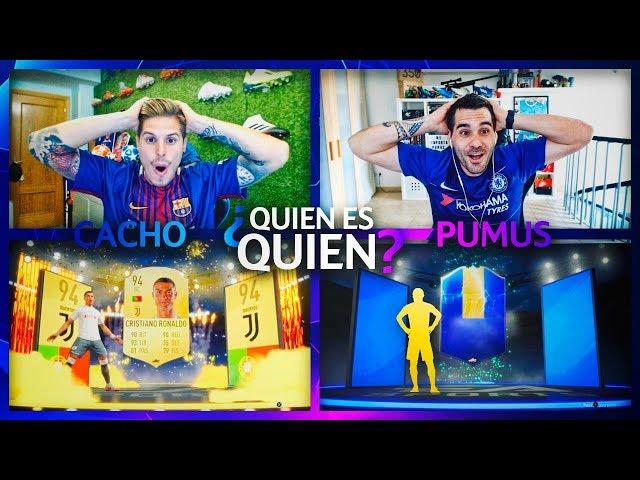 CRISTIANO RONALDO EN UN QUIEN ES QUIEN!!!!| EL MAYOR TROLEO A PUMUSCOR!! | FIFA 19