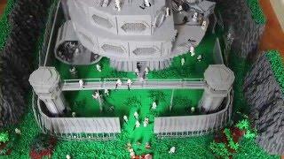 LEGO Star Wars HUGE Imperial Base on Dantooine 4K UHD