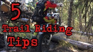 Trail Riding Tips - How To Get Over Obstacles On A Dirt Bike