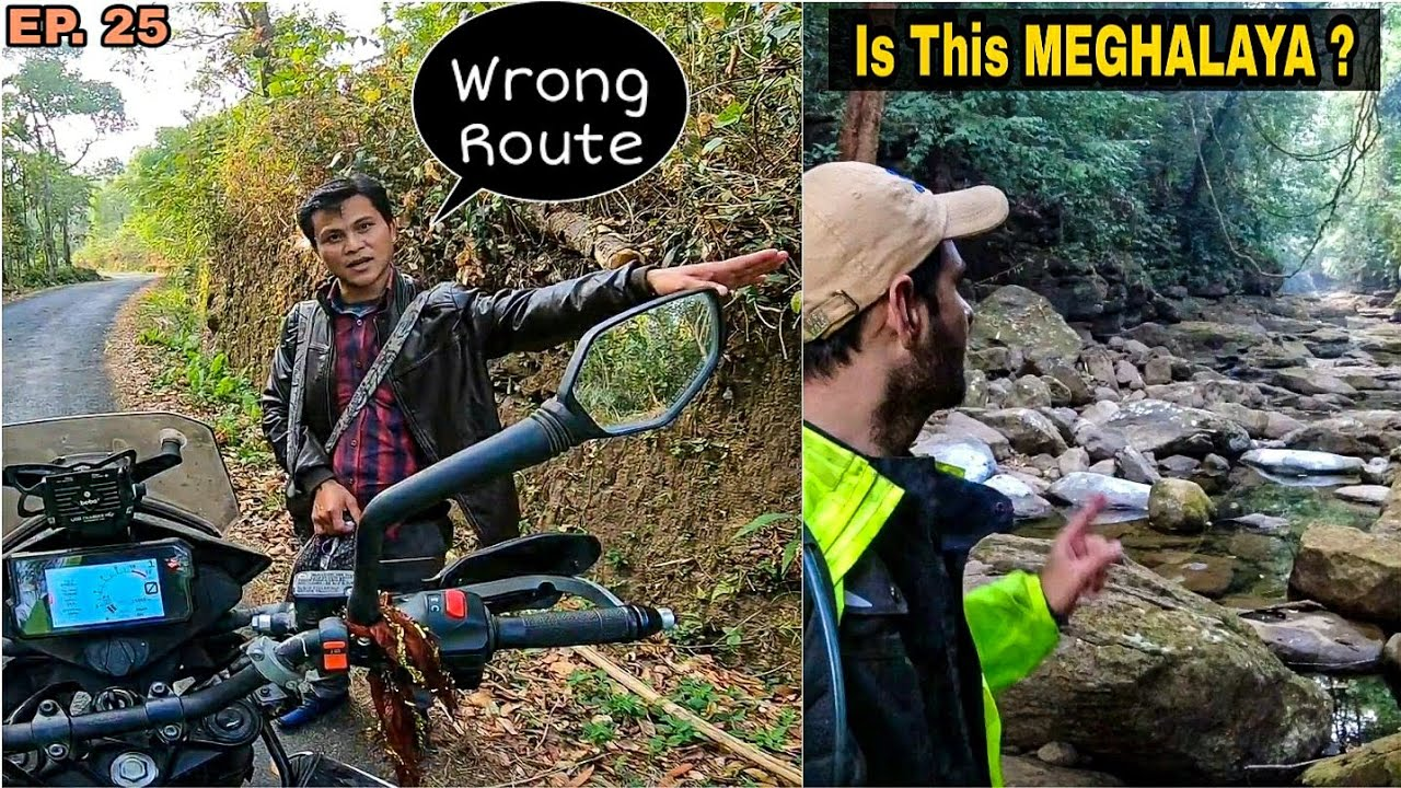 END OF NorthEast Ride & Never Trust GOOGLE MAPS 🤦🏻♂️ | Exploring Living Root Bridge | Meghalaya