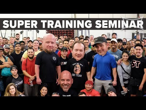 Super Training Seminar Ft. Mark Bell, Ed Coan, Stan Efferdin