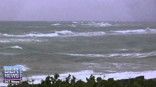 Tropical Storm Fay Approaches Bermuda, October 11 2014
