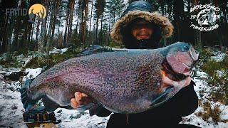 JAKTEN PÅ STOR REGNBÅGE! - Regnbågsfiske