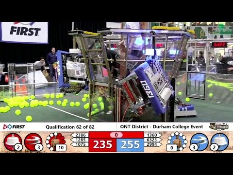 FRC COMPETITI0N - Grand Valley State University, team 5473