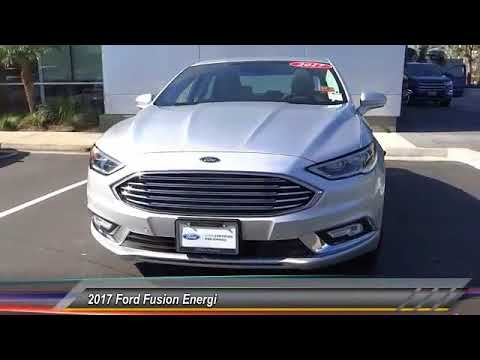 2017 Ford Fusion Energi ORANGE TUSTIN PLACENTIA FULLERTON ORANGE COUNTY 00P12971