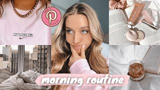 my pinterest inspired morning routine