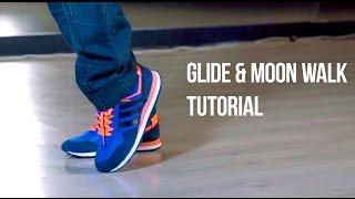 Glide & Moоn walk tutorial: SIMPLE ROUTINE| лунная походка обучение