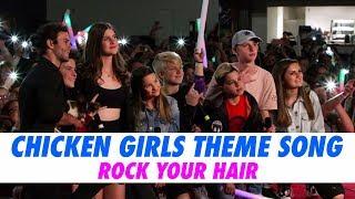 Chicken Girls Theme Song - LIVE w/ Hayden Summerall