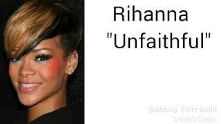 Unfaithful (Lyrics) |♪♥ Rihanna