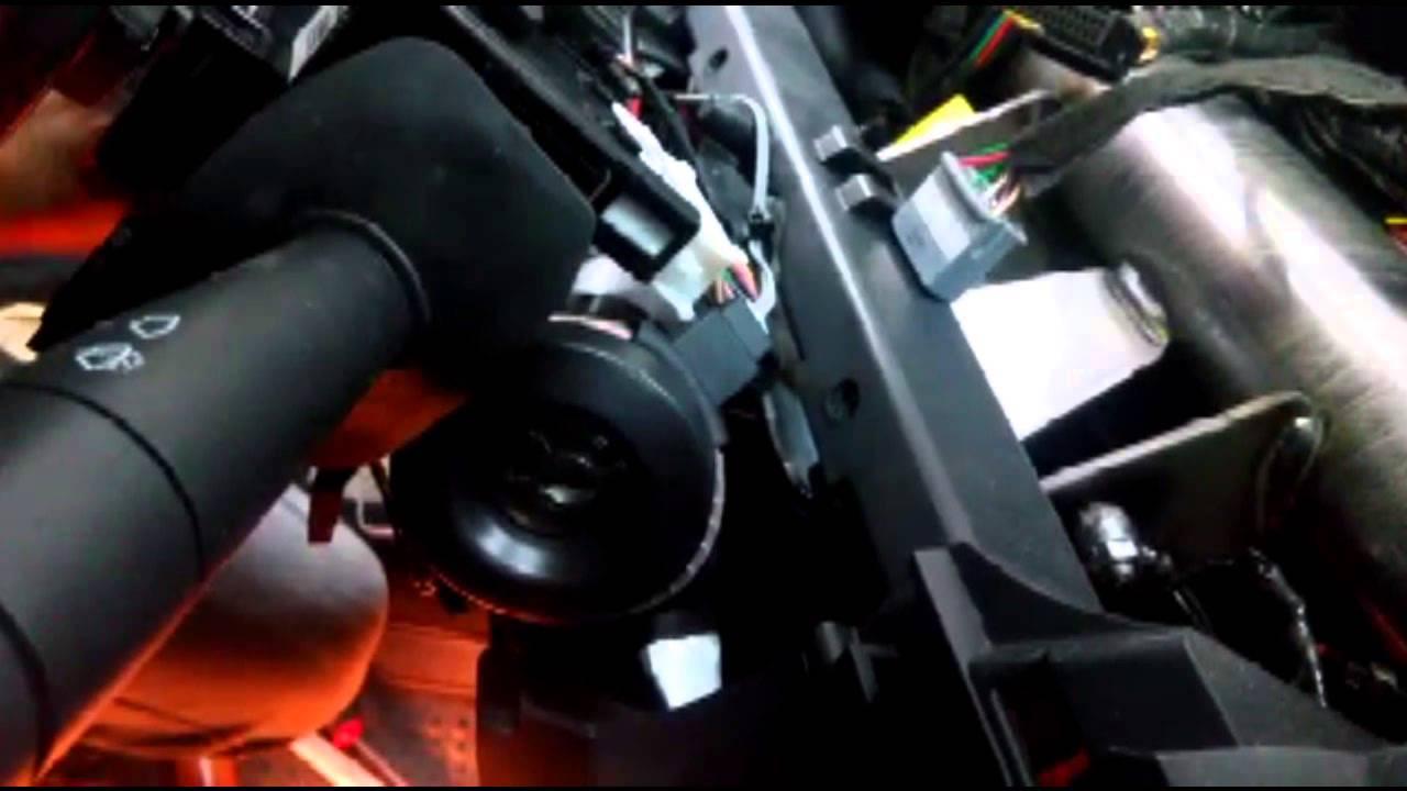 Установка сигнализации с автозапуском Alligator C-500 на автомобиль LADA LARGUS