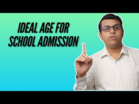 Ideal Age For School Admission