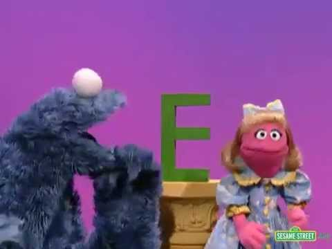sesame street letter of the day sesame cookie s letter of the day e 10711 | hqdefault
