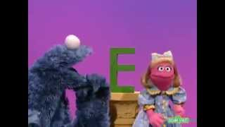 sesame street cookie s letter of the day e