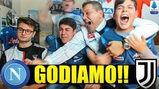 G0DIAMOO!! CHE INFARTO! NAPOLI-JUVENTUS 2-1   LIVE REACTION NAPOLETANI w/zw JACKsON