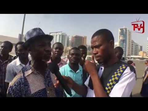 WAO I FINALLY MET GHANAIANS IN DUBAI. #KOFITVLIVE