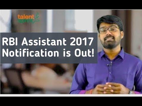 RBI Assistant 2017 Notification : Detailed Analysis   Vacancies   Eligibility criteria   Syllabus