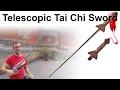 Telescopic Tai Chi Sword for sale for Tai Chi Practice