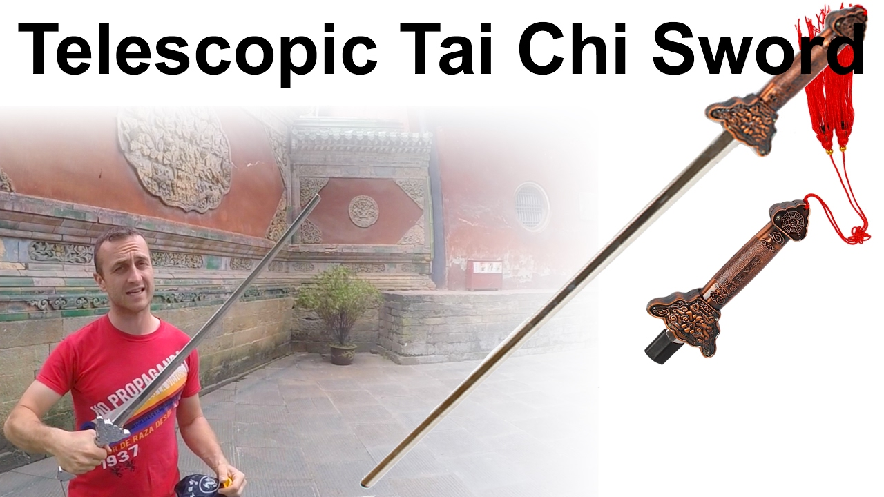 9c118f970 Telescopic Tai Chi Sword is easy to carry around with you - Enso Martial  Arts Shop Bristol