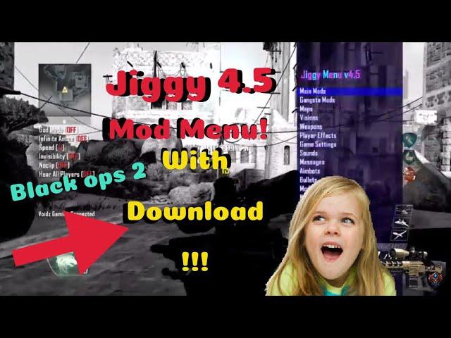 Bo2 Jiggy 4 5 MOD MENU SHOWCASE!!! with download xbox,ps3