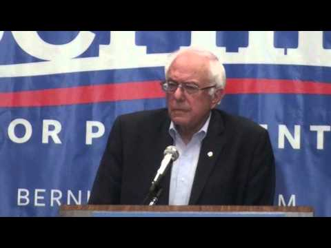 """Bernie Sanders on """"Disastrous Trade Policies"""" and the TPP"""