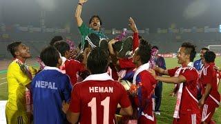 Nepal vs Laos  3 -0 Semi Final [Extended Highlights ] [ Penalty Shootout]2016 Must watch!!!!!!!