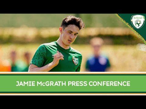 PRESS CONFERENCE   Jamie McGrath