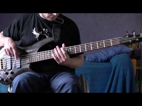 Muse - Hysteria (bass cover) HD