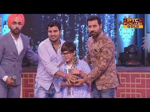 Jury Award - Actor   Gurpreet Ghuggi   Anmol Verma   Ardaas   PTC Punjabi Film Awards 2017