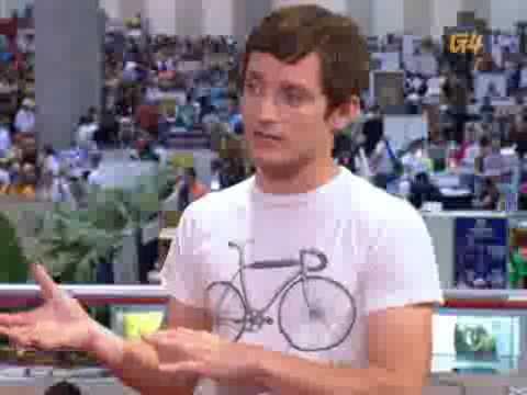 Elijah Wood Comic Con 2009 Interview