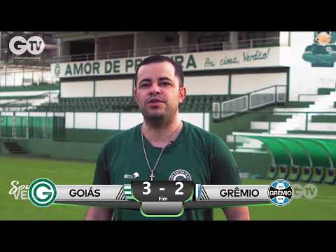 AO VIVO:  GOIÁS x GRÊMIO - CAMPEONATO BRASILEIRO - SÉRIE A - 38º RODADA