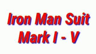 Green Screen Iron Man  Mark I  V
