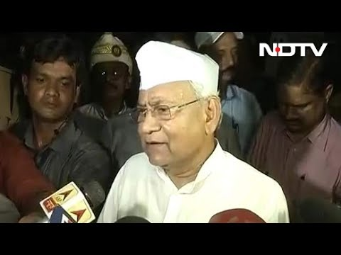 'Bihar Ki Beti' Has Been Nominated Only To Lose: Nitish Kumar