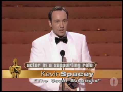 Kevin Spacey Wins Supporting Actor: 1996 Oscars