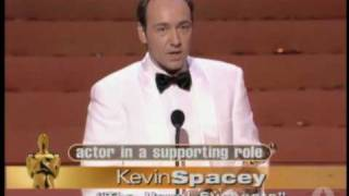 "Kevin Spacey winning an Oscar® for ""The Usual Suspects"""